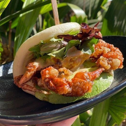 Jinya Ramen Bar's four locations in Metropolitan Washington are serving up a new Soft Shell crab Bun and a Spicy Maze-Men bowl