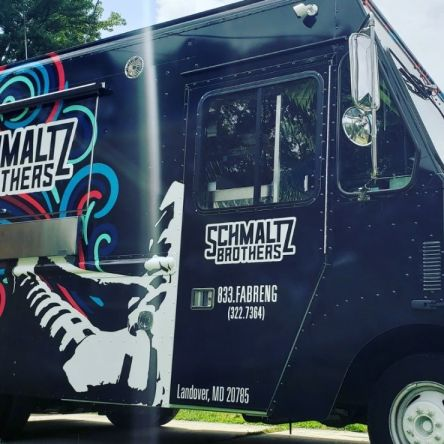 The Schmaltz Brothers Food Truck will offer a Hanukkah Menu starting December 10. Owners Chap Gage and Yehuda Malka are delivering the goods around town