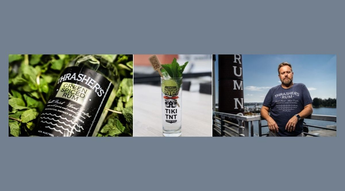 """A """"herbaceous, floral and aromatic"""" rum, produced by Washington's Potomac Distilling Company, landed on Wine Enthusiast magazine's """"Top 100 Spirits"""" in the Rum Category"""