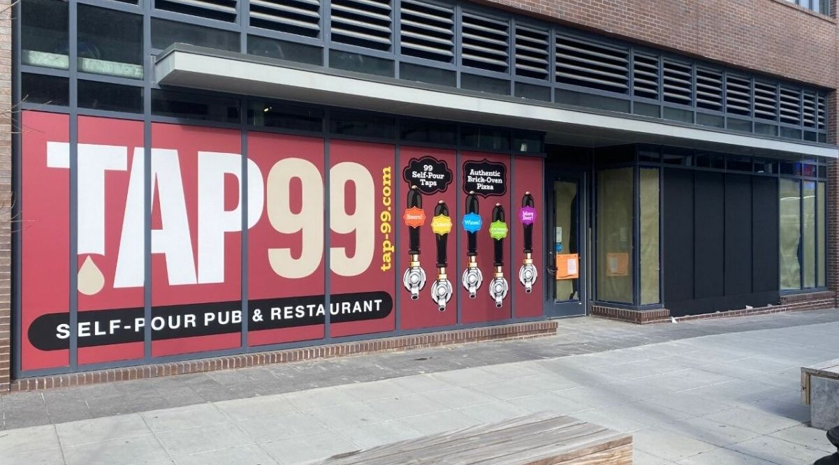 Tap 99, a new taphouse and restaurant will open just steps from Nats Stadium this spring. Founded by Jason Cherry, a Formula Ford and Formula Continental race car driver and business owner