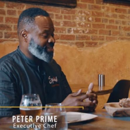 Chef Peter Prime, an acclaimed chef in Washington, DC, has his own dinner slated in Taste America