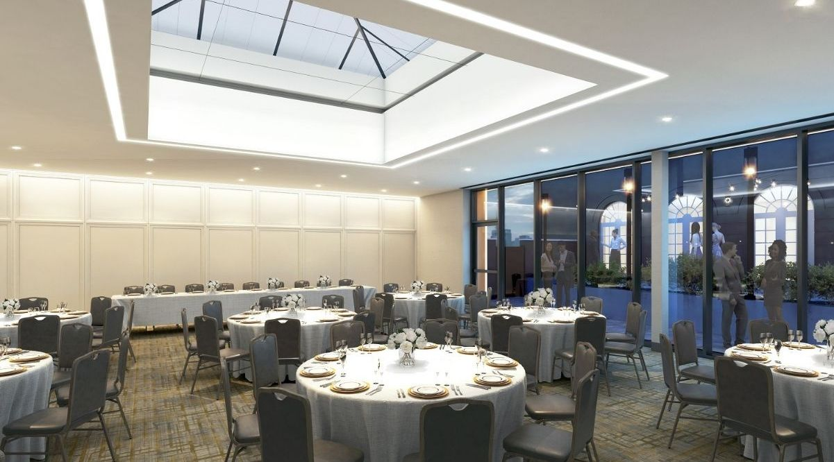 The Darcy Hotel is nearly ready to unveil expanded event space as part of $2.4M renovation
