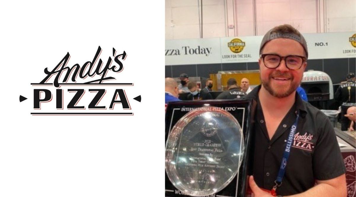 At the International Pizza Expo's competition honoring some of the world's best pizza makers, local chain Andy's Pizza took home the prize in the Traditional category for its classic cheese pizza