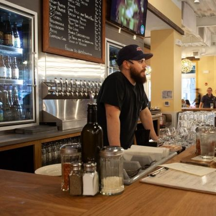 Pizzeria Paradiso is helping customers battle the heat with cold brews and chill events during the month of August