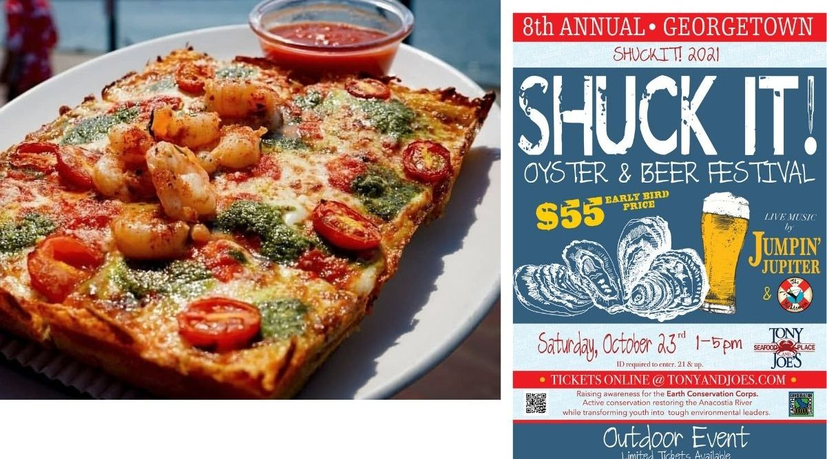 Nick's Riverside Grill is featuring Detroit-style pizzas and Tony and Joe's hosts 2021 Shuck It festival